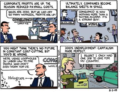 stock market crash cartoon. I am surprised the stock
