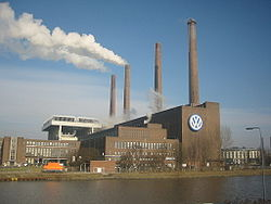 Volkswagen Factory in Wolfsburg, Germany