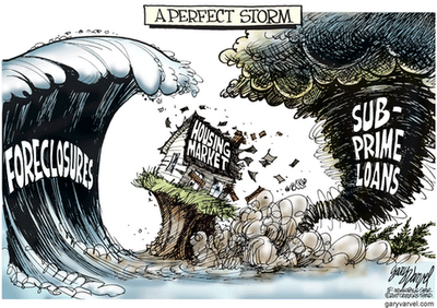 Surprised at this 'perfect storm' - Don't be!