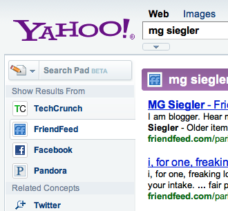 Search for people on yahoo