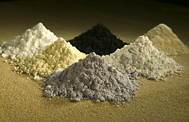 Rare earth elements or rare earth metals