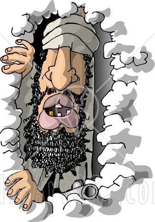 osama bin laden cartoon picture. osama bin laden cartoon images