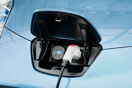 Chargeport for Nissan            Leaf EV