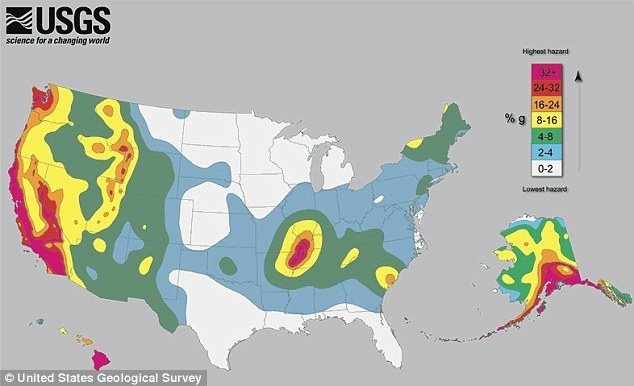 Us earthquake zones gumiabroncs Gallery