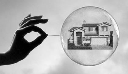 Pin piercing bubble