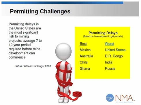 TREM 11 Permitting Challenges
