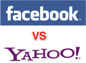 Facebook vs Yahoo Done