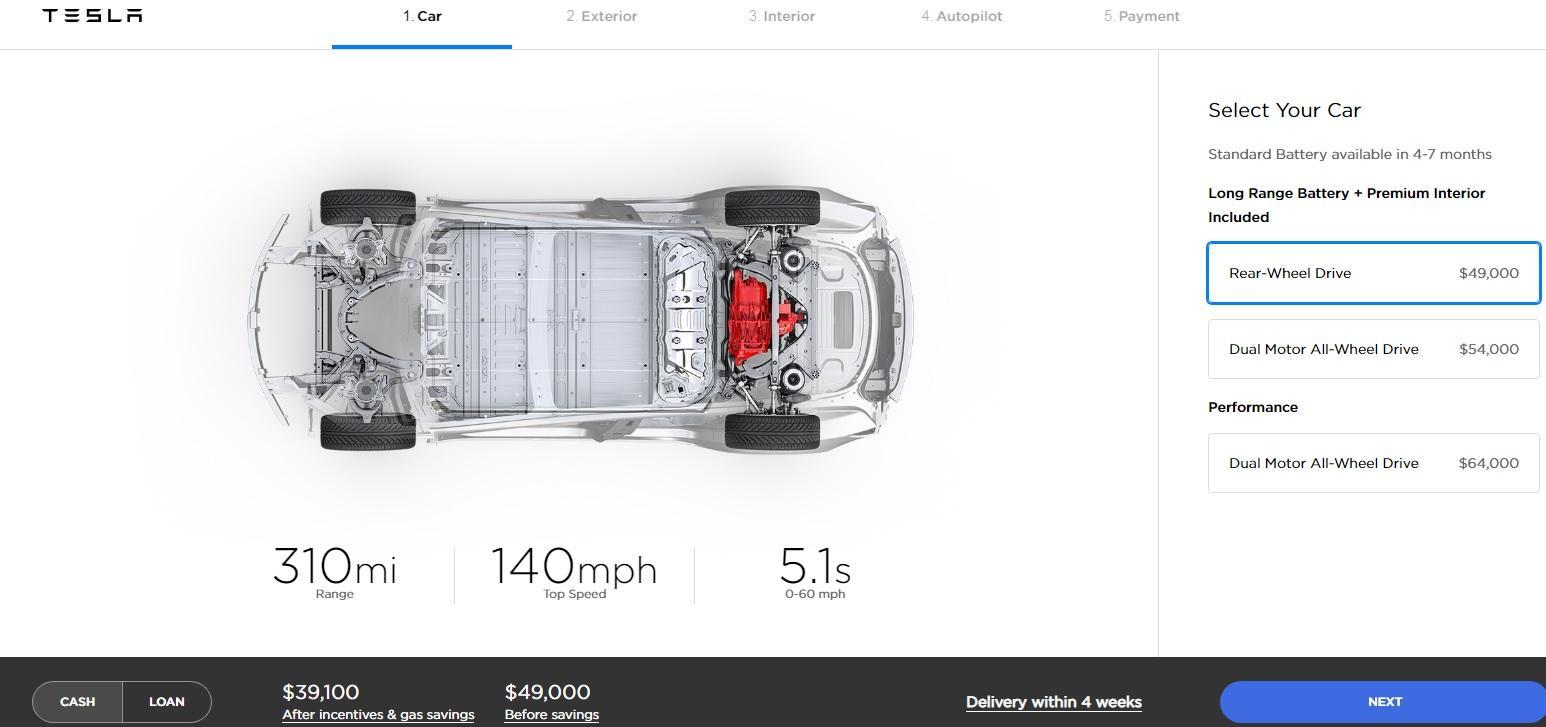 Origin Tesla Model Trei Progress Stopped Nasdaq