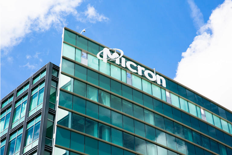 Micron Technology Inc. One of american leader in  semiconductor devices, dynamic random-access memory, flash memory, USB flash drives, solid-state drives.