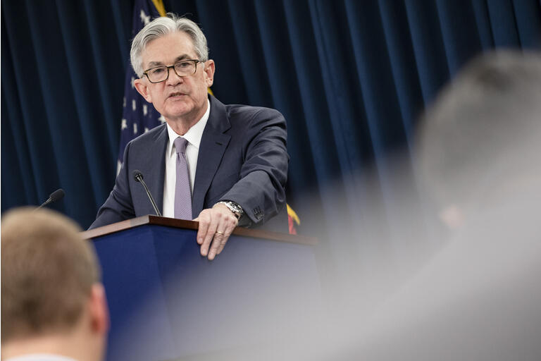 Federal Reserve Chair Jerome Powell Announces Fed Decision On Interest Rates