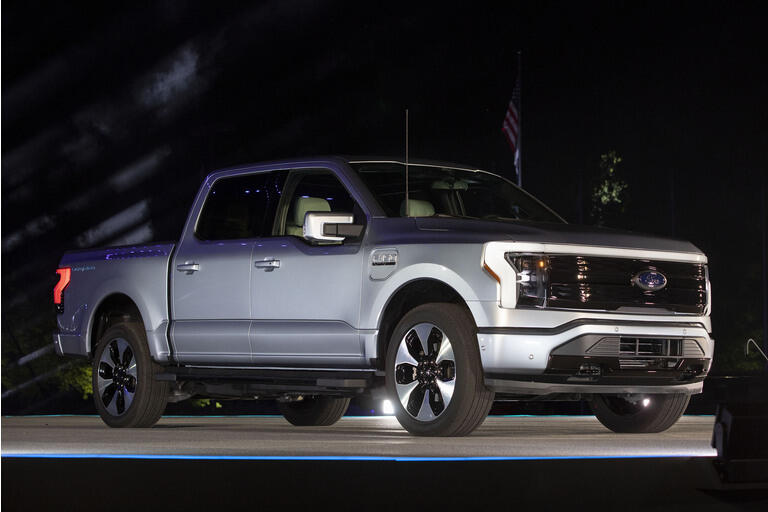 Ford Motor Company Reveals First All-Electric Pickup Truck