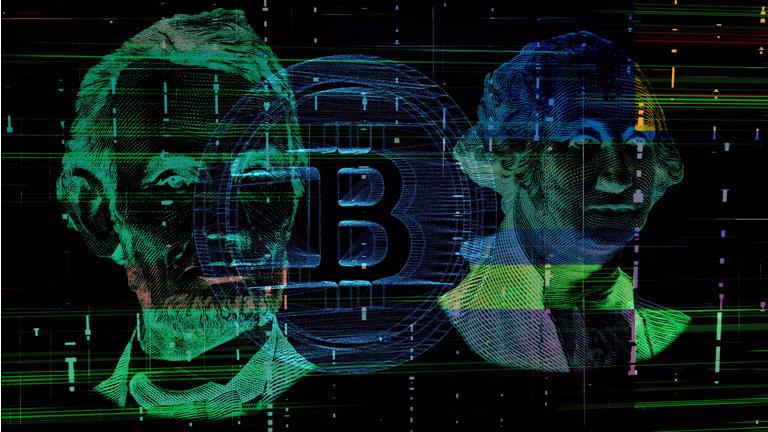 Cybermoney dollar currency Digital
