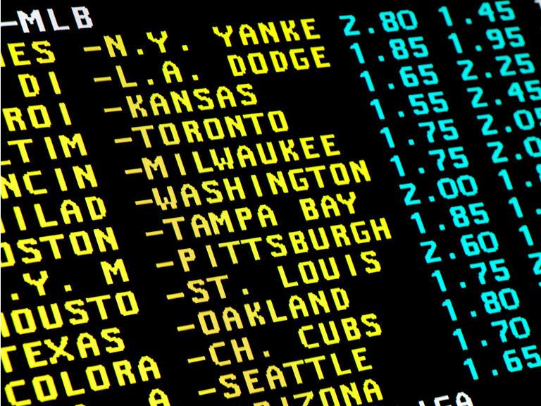 Baseball betting