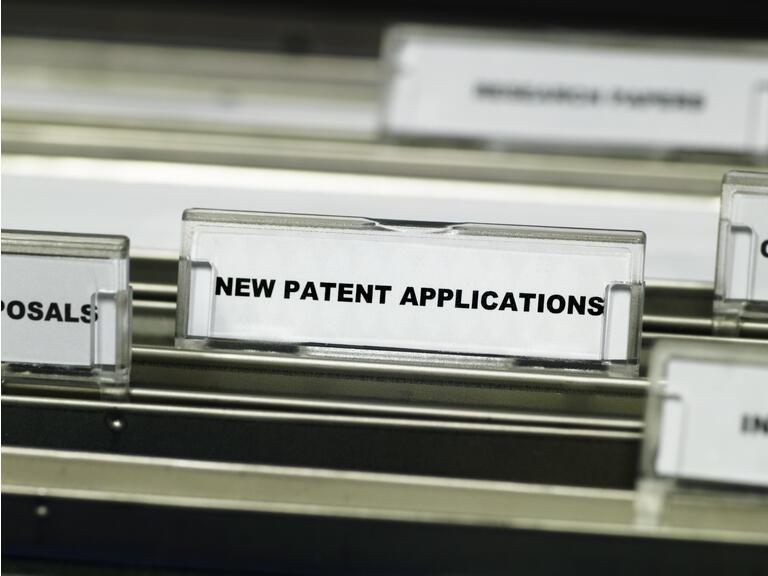 Patent applications suspension file