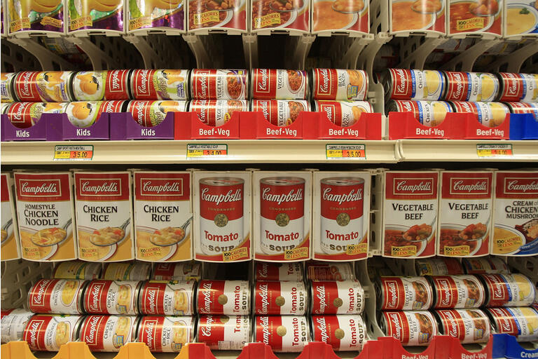 """Campbell""""s Soup Posts Strong Quarterly Earnings"""
