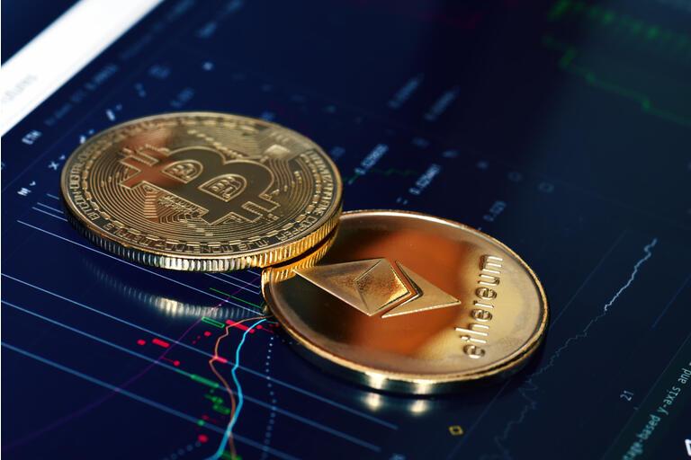 tappo del mercato di ethereum vs bitcoin
