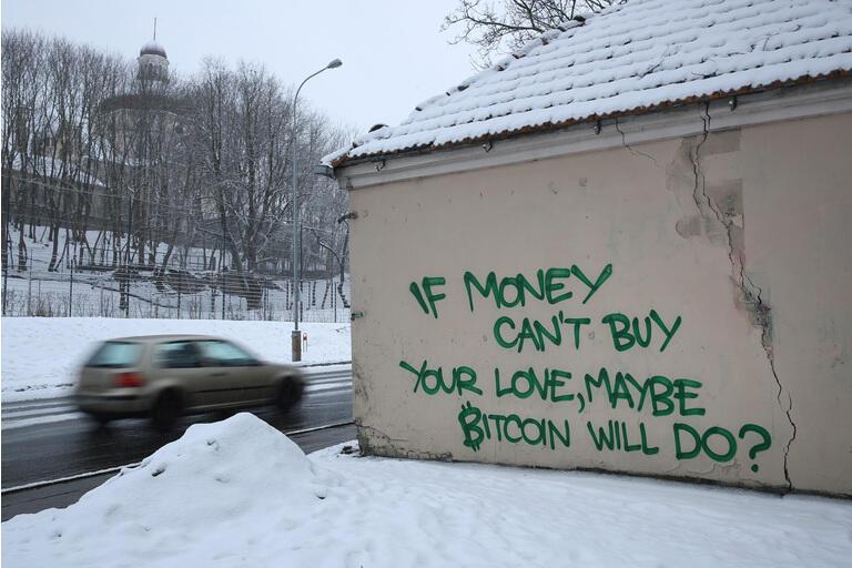Bitcoin Graffiti