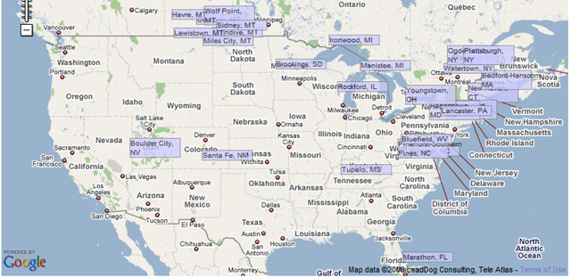 Map Of Us Airports Lost Cities: Mapping U.S. Airports Losing Air Service | Seeking Alpha