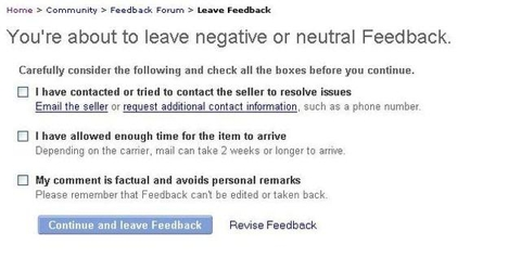 Ebay Feedback Changes Getting Negative Feedback Nasdaq Ebay Seeking Alpha