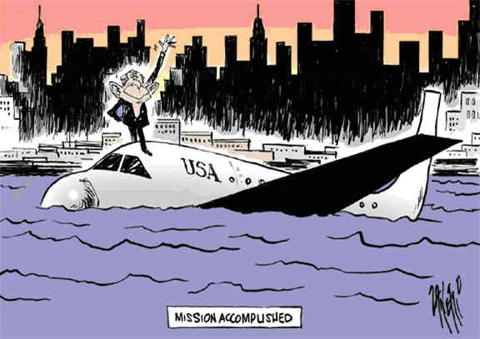 Mission Accomplished By George W. Bush