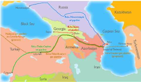 World Map Caspian Sea.Geopolitical Energy Centered On The Caspian Sea Part 1 Of 2