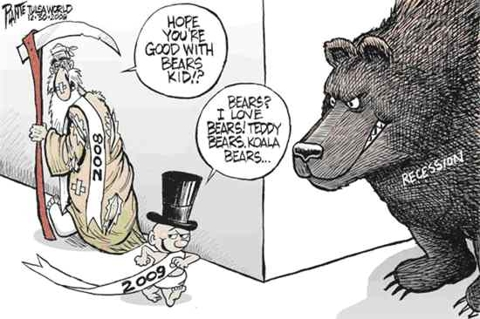 Stock Market Bears Waiting To Get Stuck Into 2009
