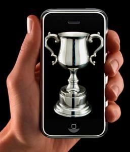 iphone trophy