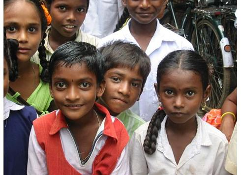 Orphans in Andhra Pradesh, August 2005