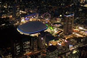 Tokyo Dome At Night