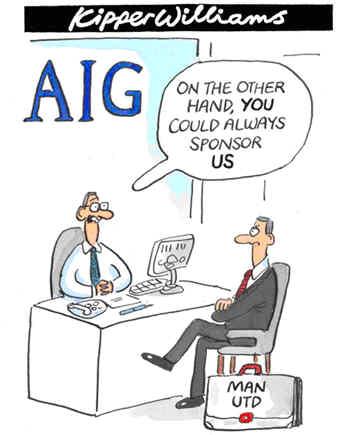 Man Utd To Sponsor AIG