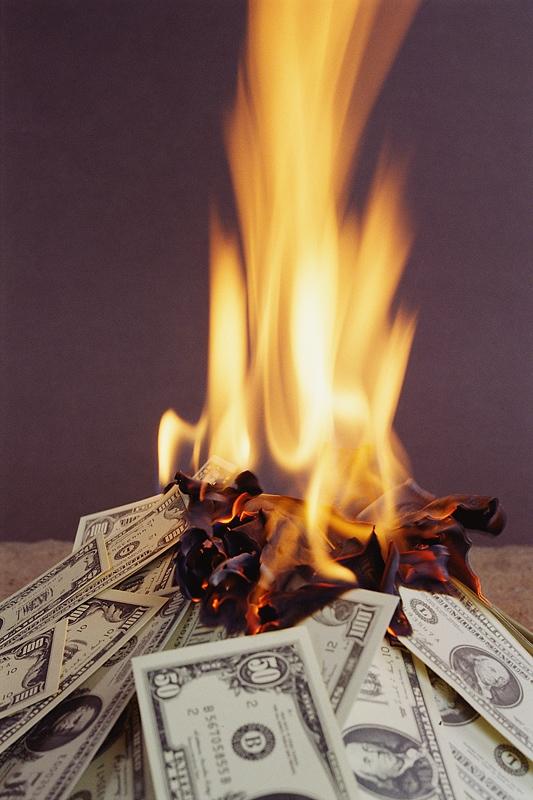 картинки жгут деньги основных заключалась необходимости
