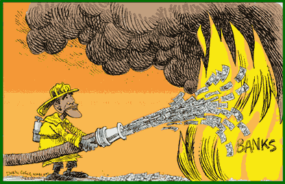 Futile fire fighting