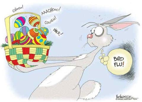Easter Egg Bird Flu