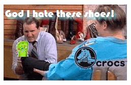 Al Bundy and Crocs