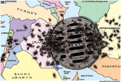 The Center of Trouble in the Middle East