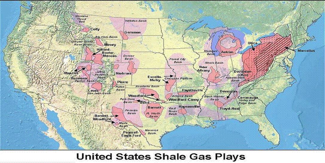 Natural Gas Americas Energy Salvation Seeking Alpha - Natural gas map us