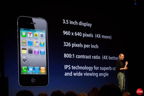 Steve Jobs on iPhone 4 design features