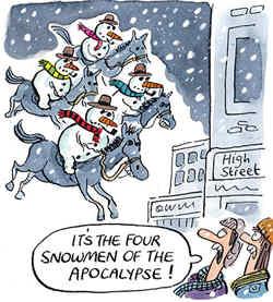 Snowmen Of The Apocalypse