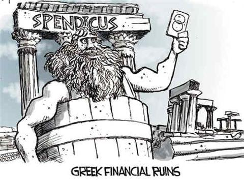 Greek Financial Ruins