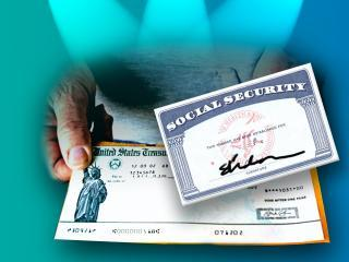 social security benefits image card