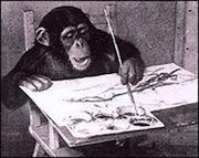 Lefty the chimp - prior art