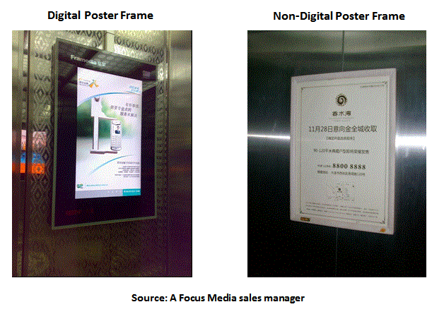 A Close Look At Focus Media\'s LCD and Poster Frame Network - Focus ...