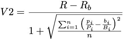V2 Ratio Formula