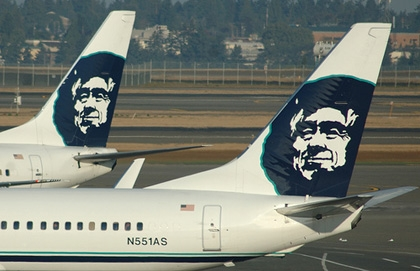 25040904130 Alaska Airlines  Isn t that the one with the Eskimo on the tail  What part  of aviation in the