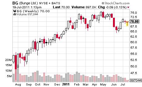Bungee Stock Chart