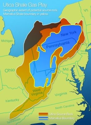 Utica Shale Gas Play