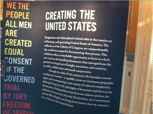 LOC Creating the US Exhibit