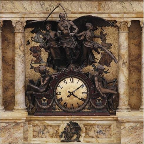 LOC Main Reading Room Clock