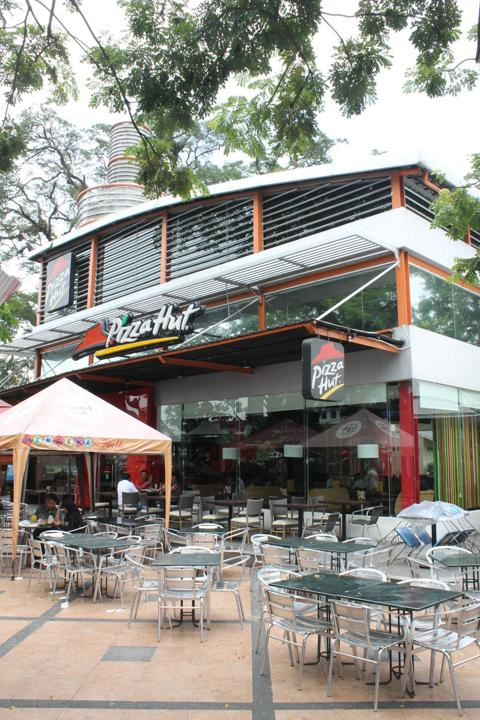 Merdeka Walk restaurants...