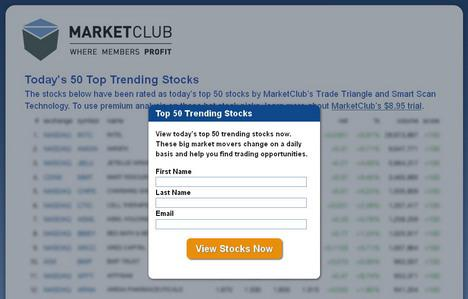 Top Trending Stocks